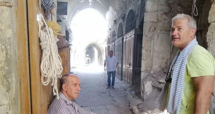 رجال أعمال روس يستكشفون الفرص الاستثمارية في حلب