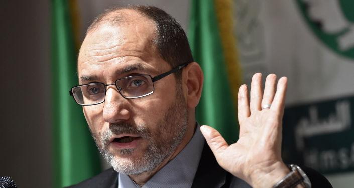 رئيس حركة مجتمع السلم عبد الرزاق مقري