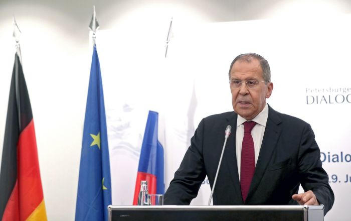 لافروف يعلق على تعيين دير لاين رئيسة للمفوضية الأوروبية