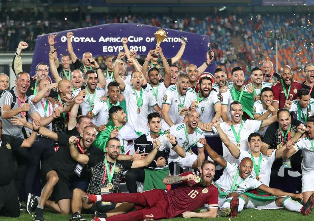 الجزائر بطل أمم أفريقيا 2019