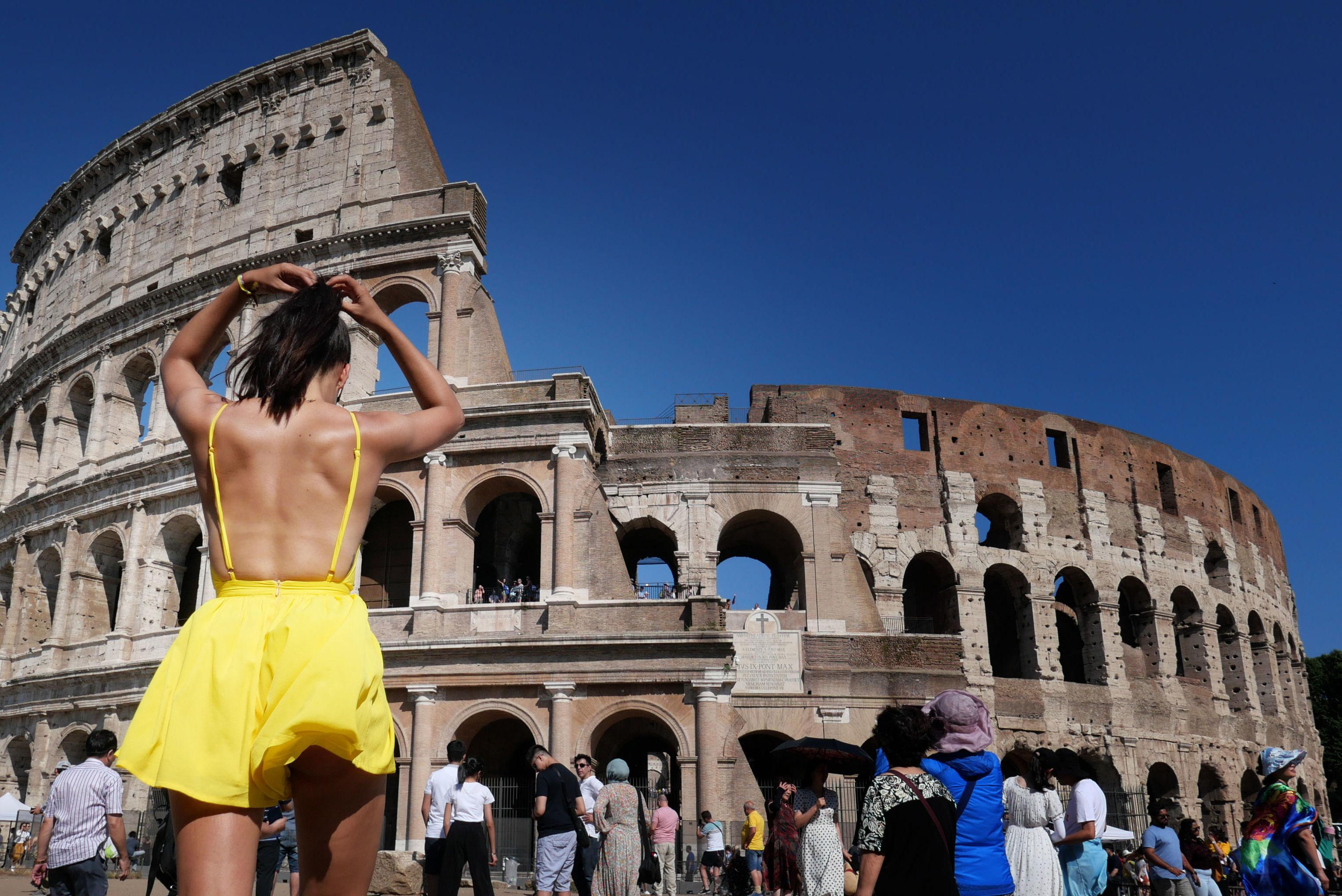 الحر في أوروبا - روما، إيطاليا 25 يونيو/ حزيران 2019