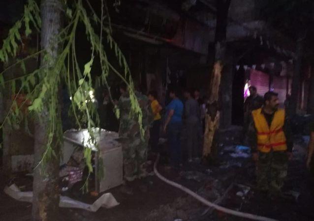 مقتل 7 مدنيين وإصابة آخرين بقذائف صاروخية على أحياء سكنية بحلب