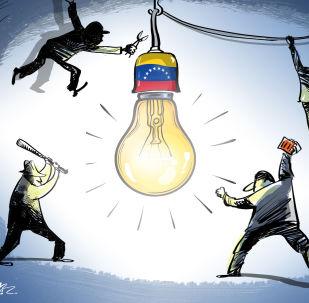 انقطاع الكهرباء في فنزويلا هجوم اجرامي