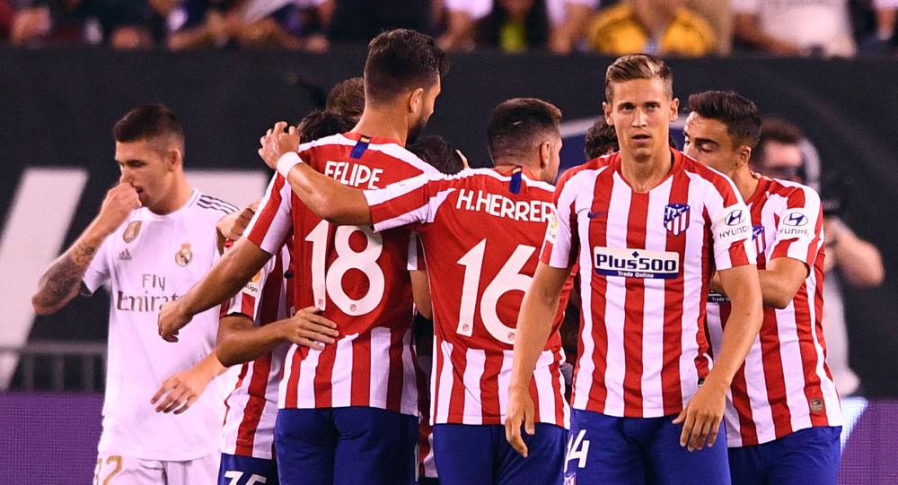 مباراة ريال مدريد وأتلتيكو الودية