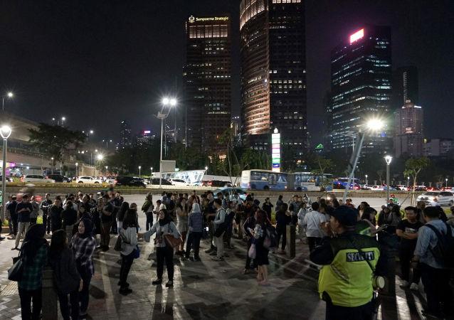 العاصمة الإندونيسية جاكرتا بعد الزلزال المدمر