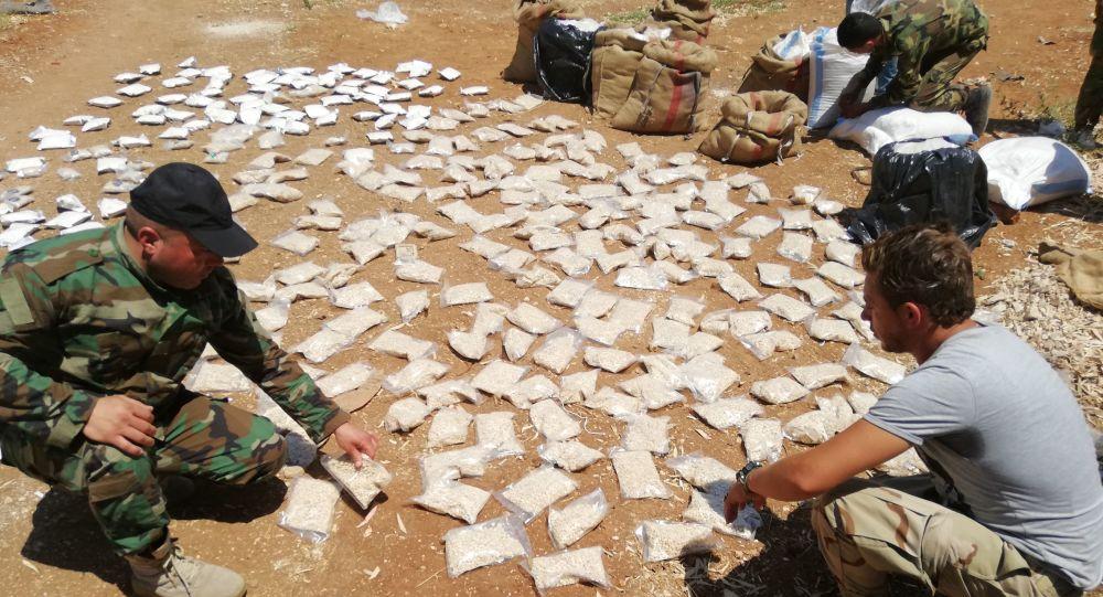 الأمن السوري يضبط 1.5 مليون حبة كبتاغون على الحدود مع الأردن