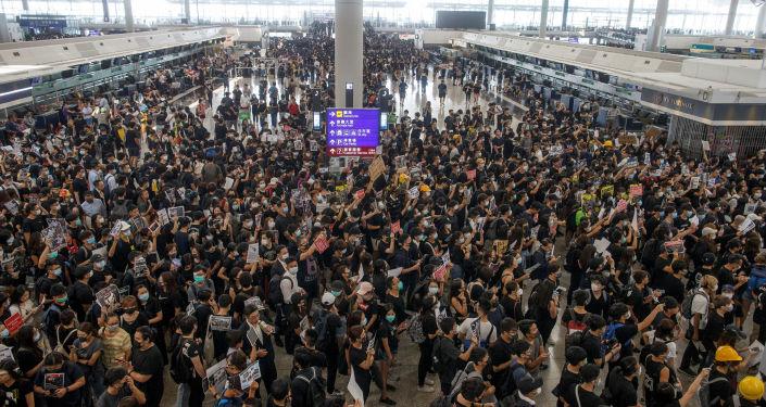 مظاهرات هونغ كونغ