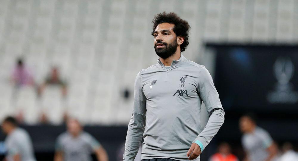لاعب ليفربول الدولي المصري محمد صلاح