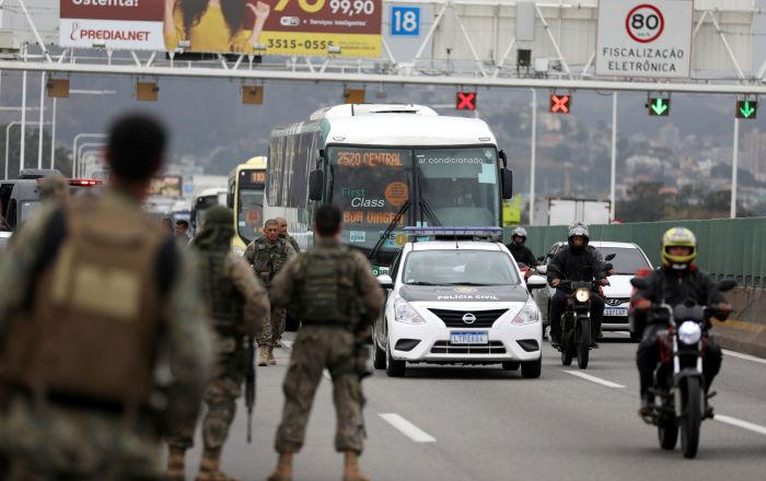 بالفيديو... لحظة قنص محتجز الرهائن في البرازيل