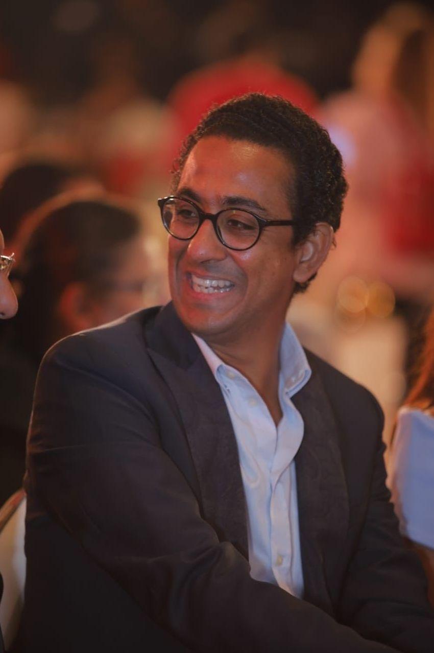 لمخرج مروان حامد في مؤتمر مهرجان الجونة السينمائي الثالث، القاهرة، 26 أغسطس/آب 2019