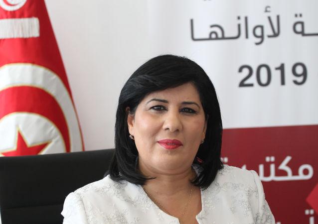 عبير موسي، مرشحة الرئاسة التونسية
