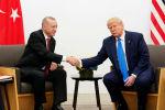 الرئيس الأمريكي دونالد ترامب مع نظيره التركي رجب طيب أردوغان