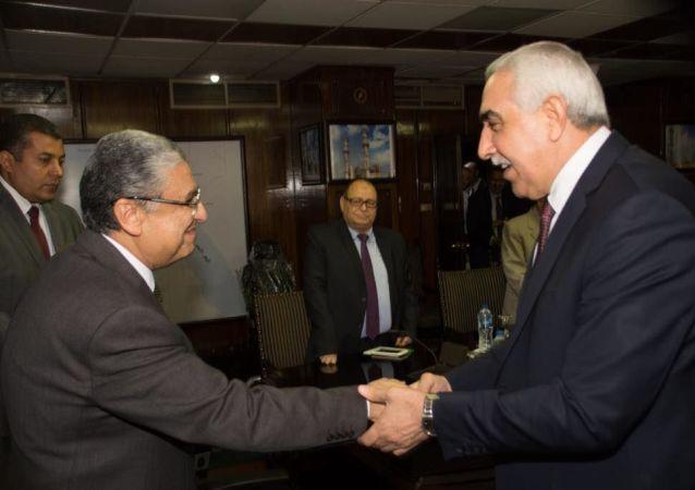 وزير الخارجية المصري يستقبل سفير العراق في مصر