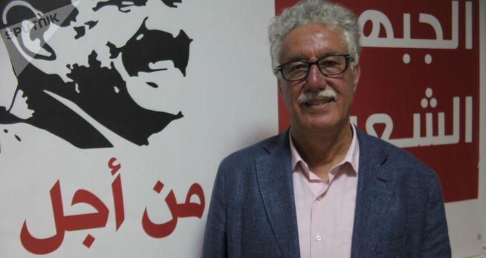 المرشح الرئاسي التونسي حمة الهمامي