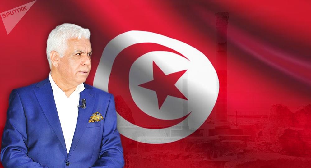 المرشح الرئاسي التونسي الصافي سعيد