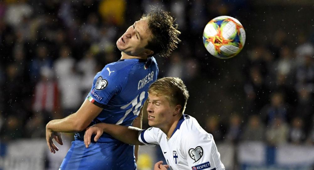 مباراة إيطاليا وفنلندا في تصفيات يورو 2020