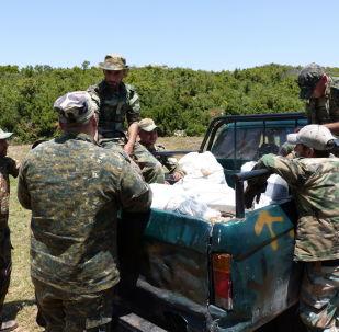 الجنود السوريون على جبهات ريف اللاذقية