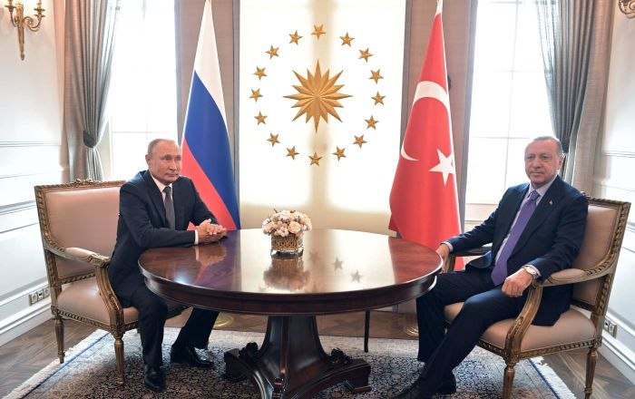 موسكو تكشف عن بحث بوتين وأردوغان لـ