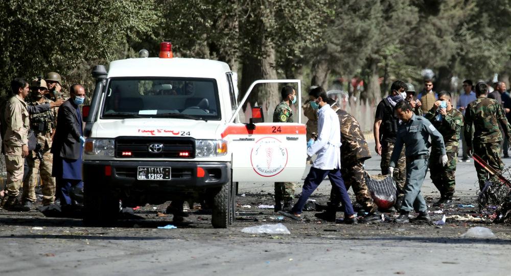 انفجارات في أفغانستان