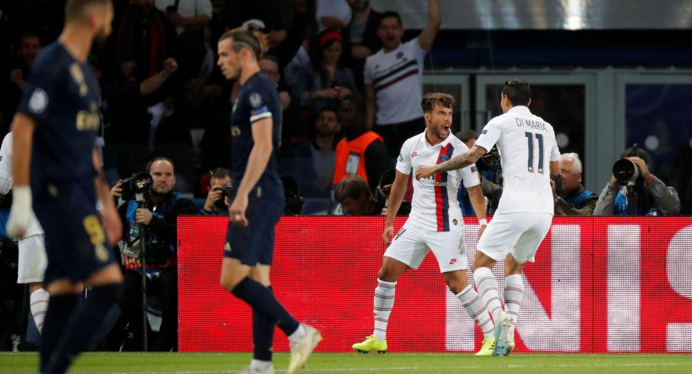 مباراة باريس سان جيرمان وريال مدريد في دوري أبطال أوروبا