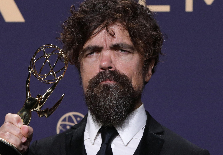 بيتر دينكليدج الممثل  الوحيد من مسلسل صراع العروش الذي يفوز بجائزة في حفل جوائز إيمي الـ71، 22 سبتمبر/أيلول 2019