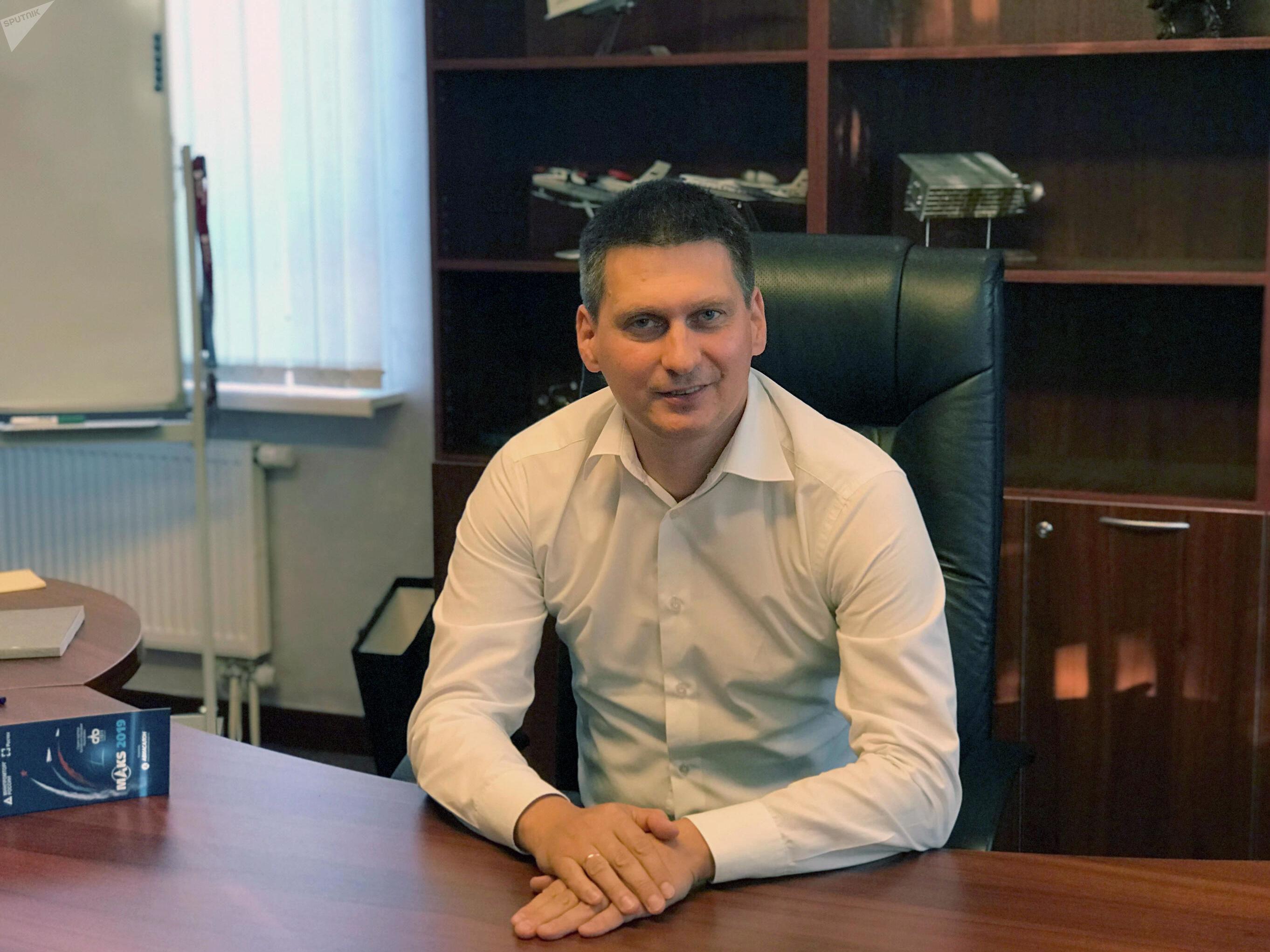 سيرغي خوخلوف، مدير عام معهد أنظمة الطيران