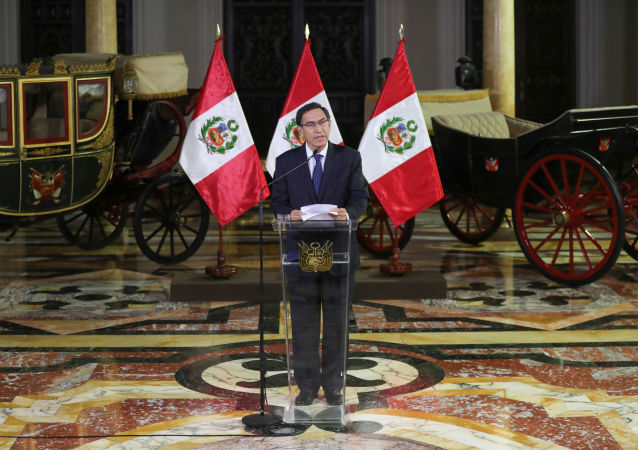 رئيس البيرو مارتن بيسكارا يحل الكونغرس