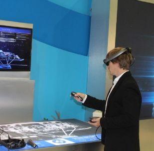 نظارات واقع افتراضي روسية