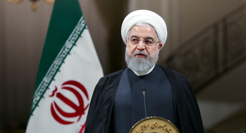 روحاني يعلق على مظاهرات لبنان... ويحمل أمريكا وإسرائيل مسؤولية سفك الدماء في المنطقة