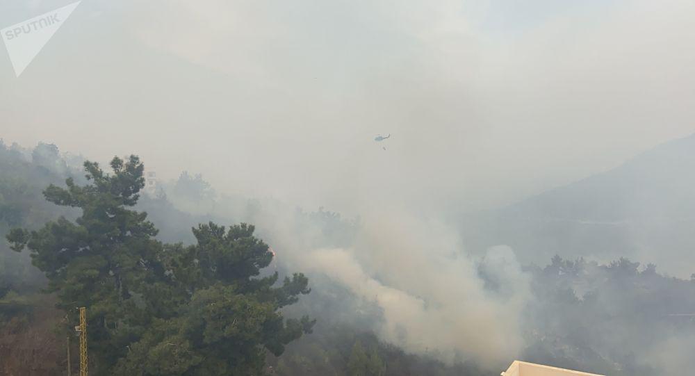 بينها دولة عربية واحدة... ثلاث دول ترسل طائراتها لمساعدة لبنان في إخماد الحرائق