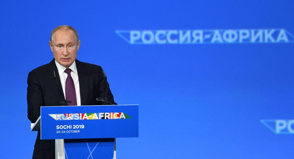 اليوم الأول - القمة الروسية الأفريقية ف مسوتشي، 23 أكتوبر 2019