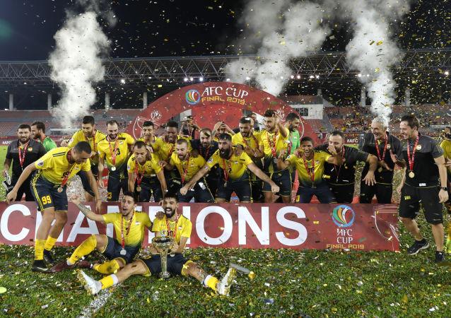 فريق العهد اللبناني يتوج بلقب كأس الاتحاد الآسيوي
