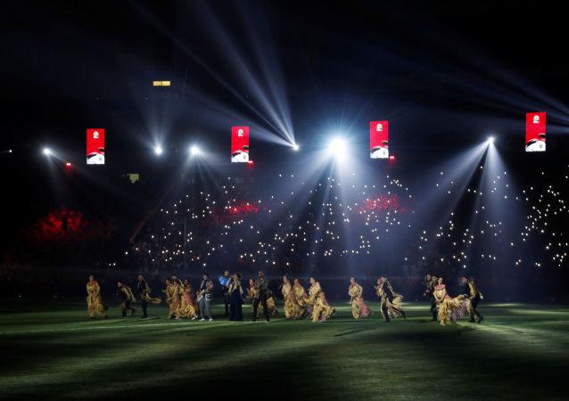 افتتاح بطولة أمم أفريقيا تحت 23 عاما، استاد القاهرة الدولي، 8 نوفمبر/تشرين الثاني 2019