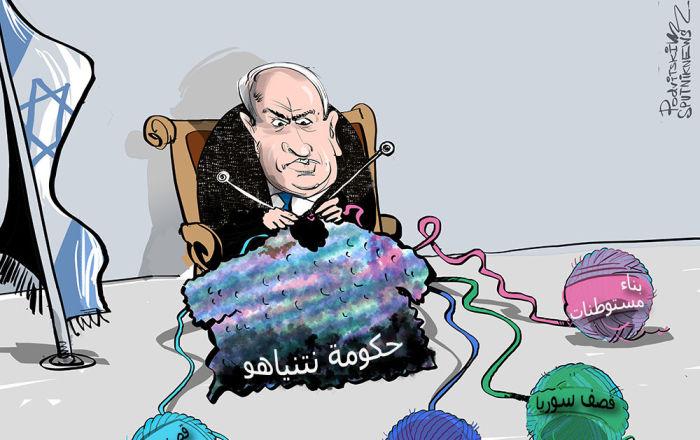 الاعتداءات الإسرائيلية تعكس الصراع السياسي الداخلي