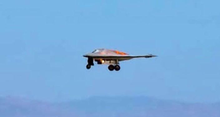 صورة جديدة لطائرة أمريكية سرية