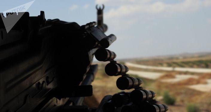وحدة سورية تحيد 11 مسلحا خلف خطوط العدو غرب حماة