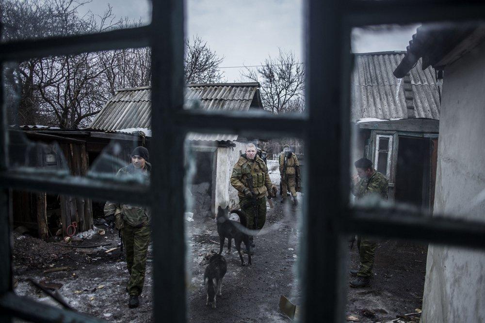 مدينة  ديبالتسيفا الأوكرانية