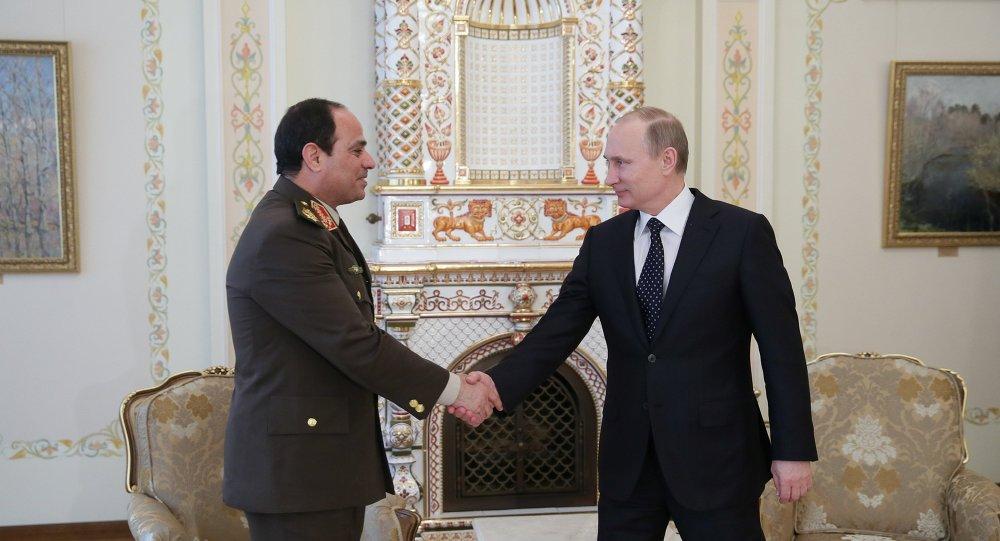 بوتين يلتقي السيسي