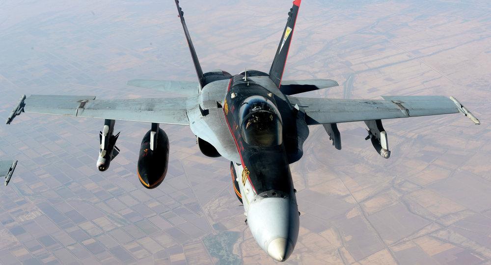 US Navy F-18E Super Hornet