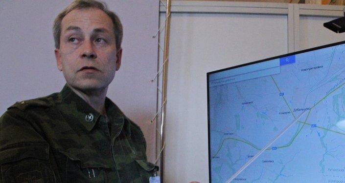 ادوارد باسورين، نائب قائد قوات الدفاع الشعبي التابعة لجمهورية دونيتسك الشعبية