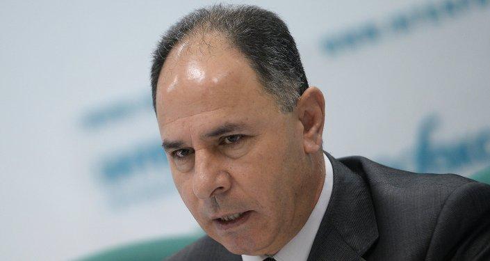 الدكتور فائد مصطفى سفير فلسطين إلى موسكو