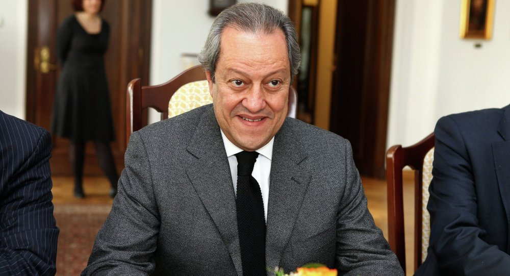 وزير التجارة والصناعة المصري، منير فخرى عبدالنور