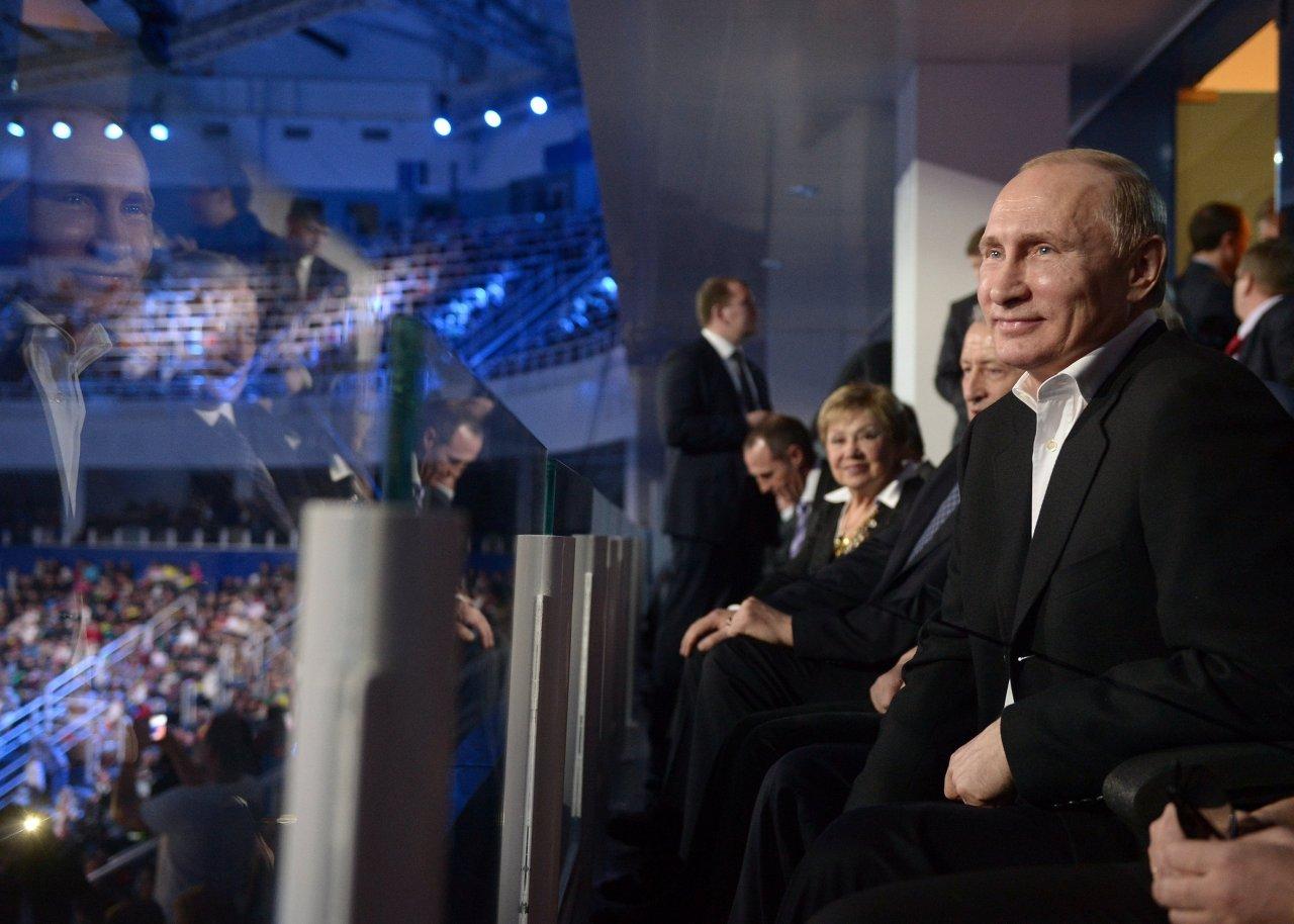 زيارة عمل الرئيس الروسي فلاديمير بوتين إلى سوتشي