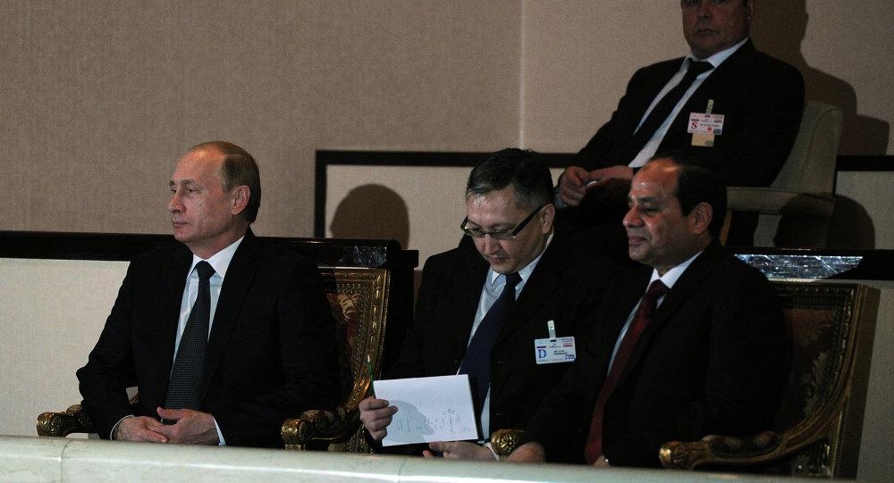 بوتين والسيسي في دار الأوبرا