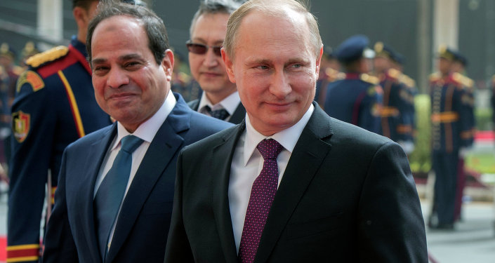 اليوم الثاني لزيارة بوتين إلى مصر