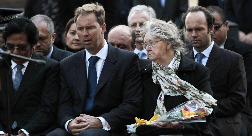 توبياس إلوود  وزير الدولة البريطاني لشؤون الشرق الأوسط