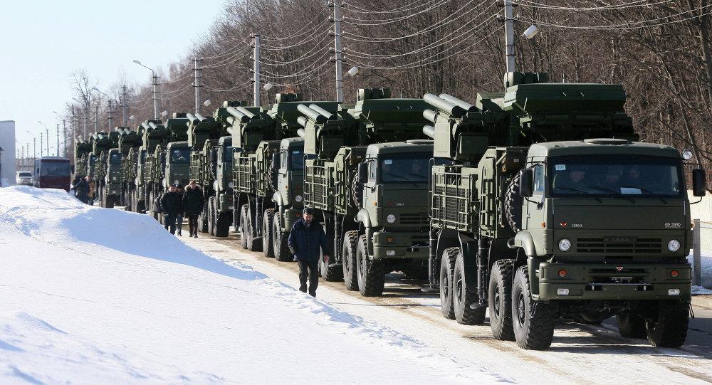 منظومات بانتسير-اس الصاروخية المدفعية للدفاع الجوي
