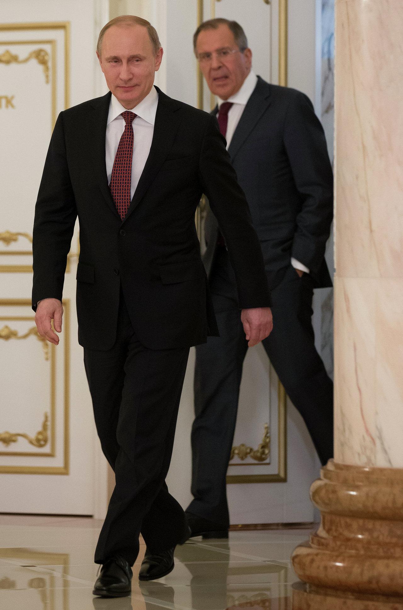 فلاديمير بوتين و سيرغي لافروف