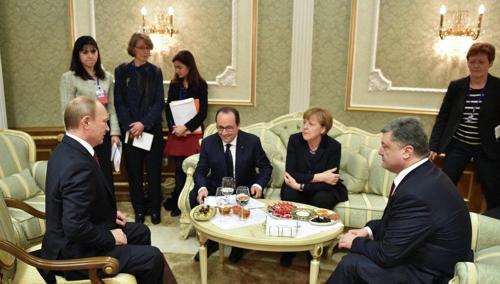 اجتماع رباعية النورماندي في مينسك