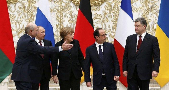 حدة ردود الأفعال خلال لقاءات مينسك